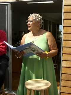 Jewelle gomez reading 07-18-09 014